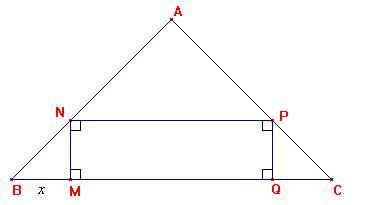 Un Rectangle Inscrit Dans Un Triangle